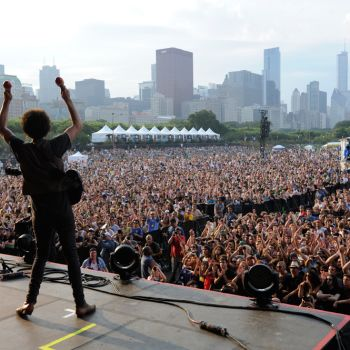 Lollapalooza music festival in Chicago